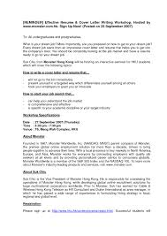 Effective Resume Writing 5 Magnificent Ideas Examples Templates How To Write An