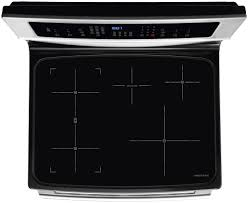 30 induction freestanding range with induction cooktop and iq