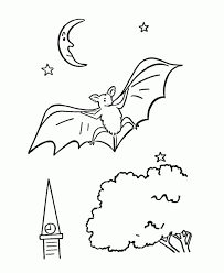 Free Desktop Coloring Pages Of Bats About Printable Bat For Kids