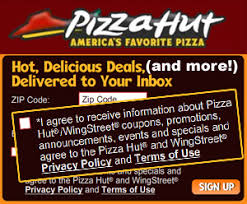 Pizza Hut Forces You To Opt In Spam Marketing When Ordering Online Consumerist