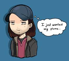 Bucky Just Wanted His Plums By Mikouchan