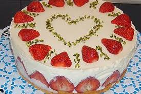 erdbeer quark sahne torte