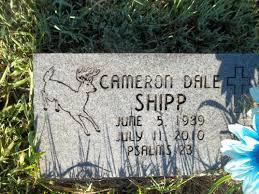 Cameron Dale Shipp 1989 2010 Find A Grave Memorial