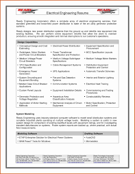 Sample Resume Pdf Engineer Elegant Format For Mechanical Engineering Students