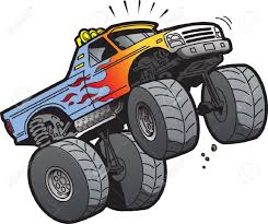 Cartoon Illustration Of A Cool Monster Truck Jumping Or Doing ... 2016 Monster Jam World Finals Xvii Awesome Pit Party Youtube This Is So Awesome Truck Roars Into Kindgartners Truck Pictures To Color 16 434 Thats One Show Sunshine Brisbane New To Be Unveiled At Detroit 111 Hlights Of Racing And Jumping Trucks Ebay Ituneshd No Disc Required Scifi From Spy Plane A Photo Gallery Of Its Fun 4 Me Xiv 2013