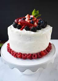 Berry Chantilly Cream Cake