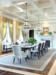 Dining Room Rug Ideas Circle Rugs Rectangle Or Square How To Choose Shape Area