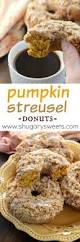 Pumpkin Cake Mix Donuts by Pumpkin Streusel Donuts Recipe Donuts Brown Sugar And You Ve