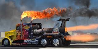 Jet-Powered Truck Hits 375 MPH (Video) - Business Insider The T High Renault Sport Racing Is A 520hp Formula 1inspired Semi Mike Ryans Banks Freightliner Power This V16powered Truck The Faest Big Thing At Bonneville Drag Lotus F1 Ends 2014 Season By Under An Airborne Semitruck Semi Truck Drag Racing Nhrda Tulsa Youtube Race Trucks Pictures Resolution Galleries Big Rig Shootoutrmr Thor Electric Semi Test Drive Zolder Official Site Of Fia European Championship
