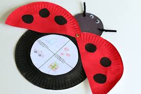 KEEP THE KIDS AMUSED WITH THIS PAPER PLATE BUG WHILE YOU GARDEN