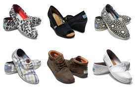 TOMS Fashionable Shoes With A Cause