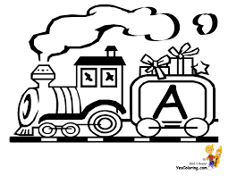 100 Fire Truck Template Image Christmas Coloring Pages 16 Toy Train Alphabet Free