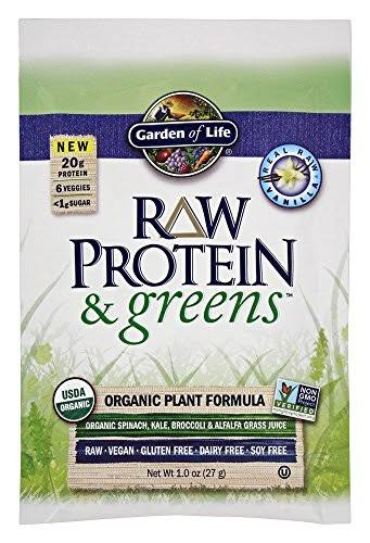 Garden of Life Raw Protein and Greens Powder - 1 oz packet