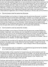 traduction siege social politique linguistique pdf