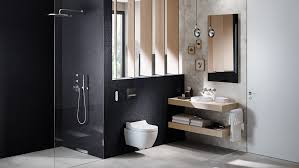 badezimmer inspirationen mit geberit aquaclean dusch wcs