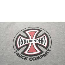 Independent TRUCK CO CREWNECK Heather Grey Bei KICKZ.com Ipdent Truck Co Tshirt Red Campus Skateparks Co Baseball Tshirt Ls White Women Sameway Built To Grind 25 Years Of Hardcore Skateb 3 Sticker Free Shipping Bpack Black Other Brands Trucks Trifold Wallet Accsories Ipdent Truck Co Stacked Zip Hoodie Mission Snow Stage 11 169 Raw Silver Pretend Supply Long Sleeved Blackwhite Infant One Piece Medicine Hatthe Boarding House Stage Forged Titanium 6299