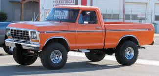 100 Ford Truck 1979 S Orange Just For Caleb S Pinterest