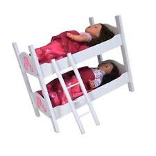 Bunk Bed for Twin Dolls fits 18
