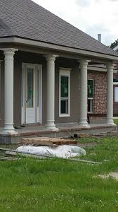 Columns On Front Porch by Uncategorized Spacious Homes With Columns Porch Posts And
