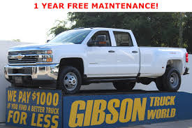 100 Gibson Truck Used 2016 Chevrolet Silverado 3500 For Sale In Sanford FL 42435