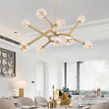 großhandel innen pendelleuchte wohnzimmer dekoration leuchten esszimmer pendelleuchte wie zweig schwarz gold mit g9 led birnen huxiaoan 45 43
