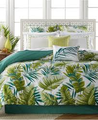 Tropical Palm Leaves Bedding Set Bed in a Bag
