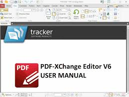 tracker software products pdf xchange editor