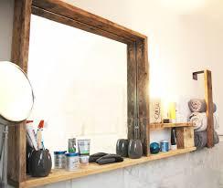 bad spiegelregal beleuchtet inkl handtuchhalter