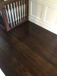 Applying Minwax Polyurethane To Hardwood Floors by High Street Market 3rd Floor Refinished Hardwood Floor Diy