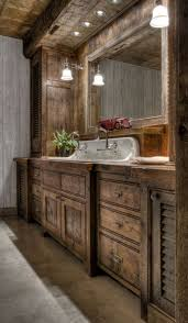 Small Rustic Bathroom Images by Rustic Bathroom Cabinets Best Bathroom Decoration
