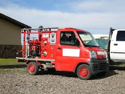 Japanese Fire Truck In The US