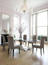 Awesome Houzz Dining Room Mesmerizing Glass Furniture In Table