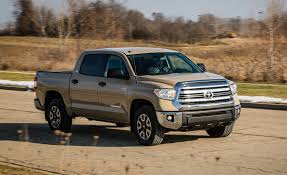 2017 Toyota Tundra 5.7L V-8 CrewMax 4x4 Test | Review | Car And Driver 2018 Toyota Tundra Expert Reviews Specs And Photos Carscom What Snugtop Do You Think Looks Better Page 2 Forum In Nederland Tx New Fullsize Pickup Truck Nissan Titan Vs Clash Of The Pickups The 11 Most Expensive Trucks 2017 1794 Edition 4x4 Review Motor Trend A Fullsize Truck With Options Automotive News Double Cab Is A Serious Pickup Talk 5 Things Need To Know About Trd Pro Wikipedia T100 Frame Rust Lawsuit Deal Reached