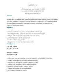 Resume Template College Student For Undergraduate Examples