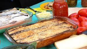 Rachael Ray Pumpkin Lasagna by Rachael Ray U0027s Sock It To Me Moussaka Lasagna Recipe Abc News