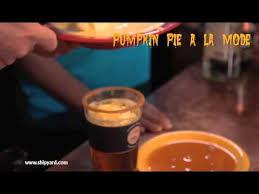 Shipyard Pumpkin Ale Recipe by Shipyard Pumpkinhead A La Mode Youtube