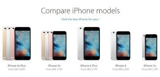 Its ficial The Cheapest IPhone 6s You Can Get Costs RM3 199