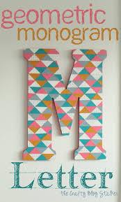 Make Your Own Geometric Decor And Crafts Designs Are On Trend You Can Join In With These Easy DIY Tutorial Ideas