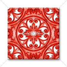 Accent Tiles For Kitchen Backsplash Unique Ceramic Accent Tile Decorative Italian Tile Design Backsplash Tile Kitchen Tile Bathroom Tile Coaster Set Trivet 4x4 Or 6x6 Tile