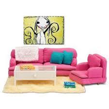 lundby smaland wohnzimmer pink tisch puppenhauszubehör