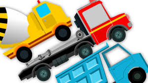 Trucks For Kids – Kids YouTube
