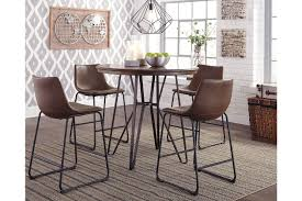 Centiar Counter Height Dining Room Table | Ashley Furniture HomeStore Zipcode Design Alesha Side Chair Reviews Wayfair Baxton Studio Reneau Modern And Contemporary Gray Fabric Three Posts Kallas Upholstered Ding John Thomas Windsor From 9900 By Danco Chairs The Home Depot Canada Cheap Kid Wood Table And Set Find Dcg Stores Buy Espresso Finish Kitchen Room Sets Online At Overstock Michelle 2pack Shop Nyomi Of 2 Christopher Knight Creggan Joss Main