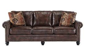 Sam Levitz Leather Sofa by The Gaylon Saddle Sofa From Ashley Furniture Homestore Afhs Com