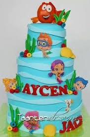 Bubble Guppies Cake Decorations by Bubble Guppies Birthday U0026 Smash Cake Bubbel Guppies Bubbel