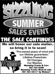 Sizzling Summer Sales Event, Wyoming Trucks And Cars / Wyoming ... Cgrulations Graduates Wyoming Trucks And Cars Rock Springs Wy I80 Big Accident Involved Many Trucks Cars Youtube Sxsw 2018 Wyomings Plan To Connect Semi Reduce Traffic Brower Brothers Nissan A New Used Vehicle Dealer In I80 Multi Truck Car Accident 4162015 Dubois Towing Recovery Service Bulls Yepthose Are Used Trucks Sheridan Obsessing About Semitruck Crushes Cop Cruiser Viral Video Fox News Fileheart Mountain Relocation Center Heart Sleet Bull Wagons Pinterest Peterbilt Rigs