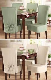 Sure Fit Dining Chair Slipcovers by Sure Fit Cotton Dining Chair Slip Cover From Collections Etc