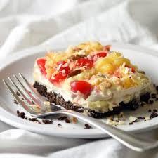 No Bake Pineapple Lush Dessert