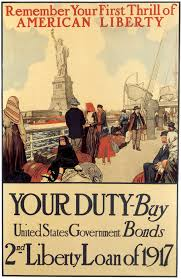 Poster Targeting Immigrants Remember Your First Thrill Of American Liberty