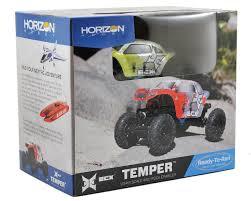 100 Micro Rc Truck ECX Temper 124 RTR Rock Crawler ECX00012T2 Cars S