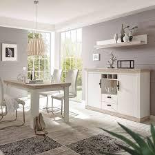 esszimmer kombination ferna 61 im landhaus design pinie weiß und oslo
